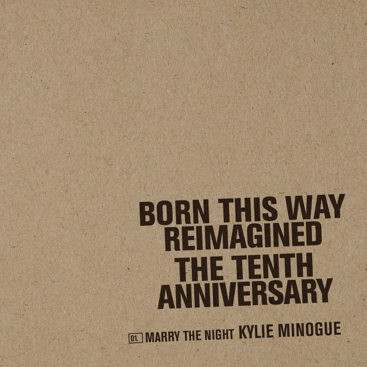 Marry the Night (By Kylie Minogue) [Single]